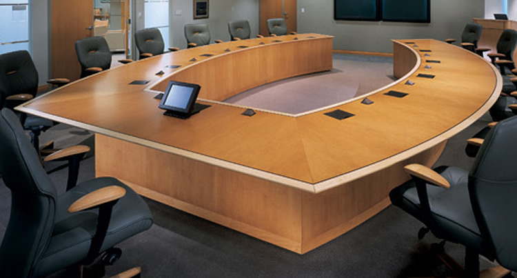 Office Desk And Conference Table Vikram Furnisher And Decorators - Desk with conference table